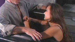 Beautiful pornstar Asia Carrera fucking & swallowing image