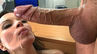 Image: Big titted Bailey Brooks fucking and swallowing