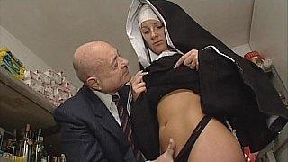 Nun & Dirty old man. No_sex image