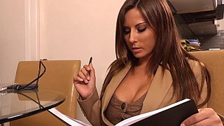 Helping his horny boss Madison Ivy image