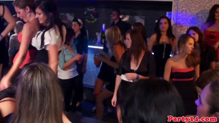 Young girl DPd on the dance floor image
