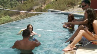 Pool party debauchery part 1 image