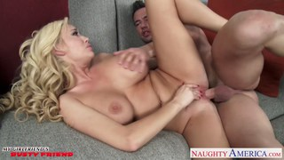 Hot blondie with big tits Summer Brielle fuck image