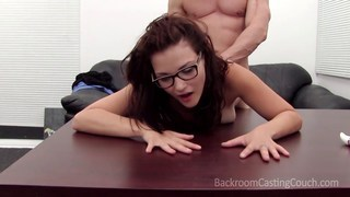 Image: Fun amateur Addyson makes him cum in her mouth