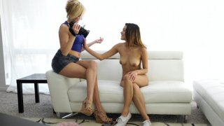 Image: Saucy Latina Josie Jagger shows off her sensuality and sexuality when she is interviewed by Kate...