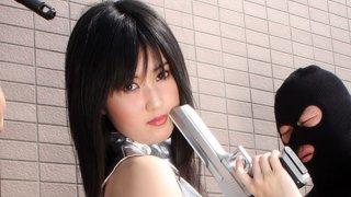 Shizuka Minami enjoys a_thick hard sausage image