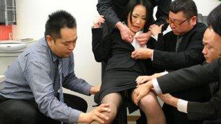 Image: Ai Mizushima pleases all her horny partners