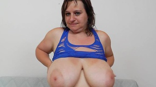 Image: Masturbation and cunny gape plus milf brunette