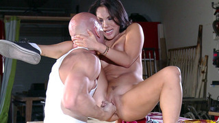 Asian porn star Asa Akira gets pussy and ass fingered image