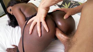 Black mom Diamond Jackson anal_fucked doggy style image