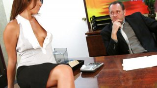 Image: Exotic look secreatary rammed by her boss