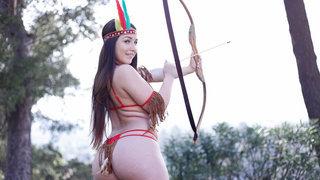 Pocahontas got meat image