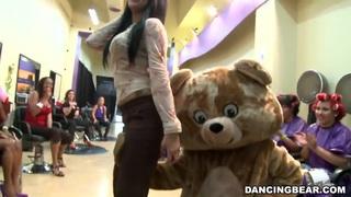 Dancing bear image