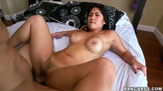 Hot exposed Asian chick Mia Li is drilled image