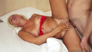 Hot mature Kate Blonde is fucking with her lover image