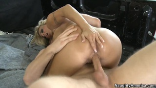Danny Wylde drilling holes of_Holly Halston image
