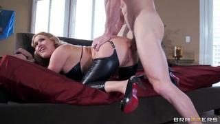 Buld fucker Johnny Sins is anal fucking hot blonde Krissy Lynn! image