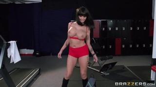 Lesbo porn scene with Joslyn James & Natasha Starr image