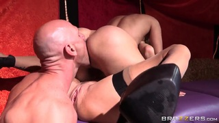 Johnny Sins banging Nora Noir and Veronica Avluv image