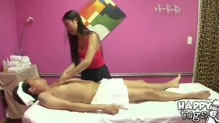 Scott visits sexy Asian massage sorcerer image