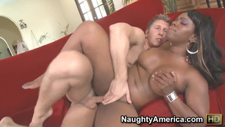 Image: Big girl Samone Taylor is fucked right in the ass