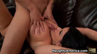 A_busty_Latina_sucks_cock_like_a_champion image