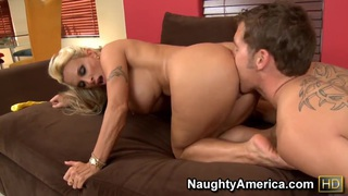 Brutal deep anal with sexy mature Holly Halston! image
