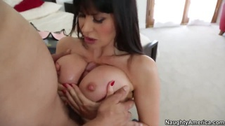 Eva Karera with her big boobs sucking and fucking with a handsome guy image