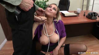 Fresh boss lesson anal - Abbey brooks gets a hardcore lesson of good manners by her boss image