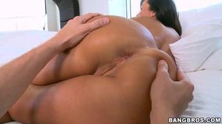 Big ass horny pornstar Lisa Ann pleasures herself image