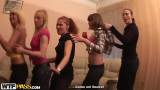 Image: Hot sex party with college teenagers Alma, Colette, Daisy, Gia, Jewel