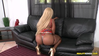 Image: Big ebony woman Angel hot sex fun with Jmac