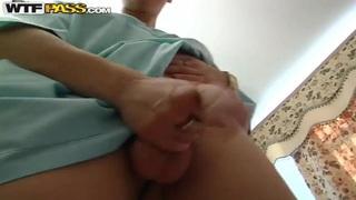 Slim blonde slut Yalena Ester gets has DP session image