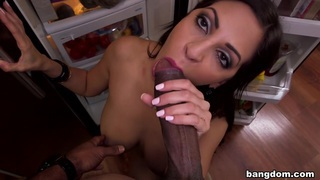 Hot Latina with big tits_naked outdoors image