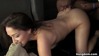 Sexy pornstar fucks a lot of amateurs image