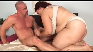 Unforgettable Redhead-BBW-Milf with Huge-Boobs fucked image