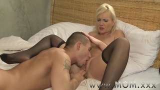 MOM Blonde MILF's and their_lovers image