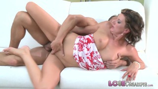 Love Creampie Hot milf gets the fuck of her life image