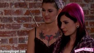 BurningAngel Lesbian Ass Licking Orgy image