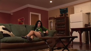 Angelica Raven - Naughty Nanny is So Anal! image