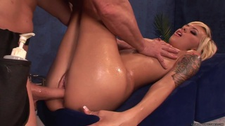 Emma Mae takes this hard dick deep in her wet slot image