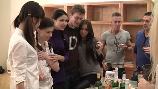 Elizabeth & Kamila & Marya & Sabina Gruda & Tanata in sexy student girl gets fucked in a hardcore video image