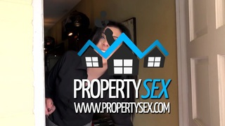 Image: Pretty realtor uses her pussy to convince buyer