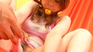 Image: Bondaged Asian cutie Miku Airi gets her pussy stimulated with a vibrator