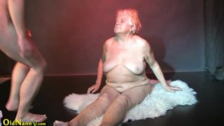 Oldnanny - Fat granny, big mature and her_boyfriend image