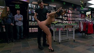 Sexy Latina babe_destroyed in public image
