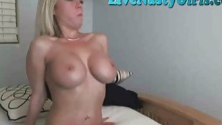 Image: Hot Blonde Perfect Tits On Webcam 4