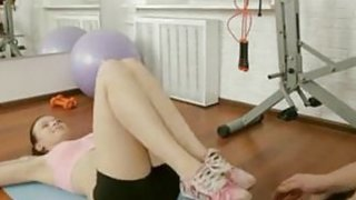 Image: Fit Russian Teen Does Anal
