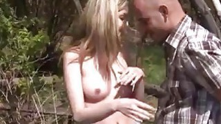 Image: Abby deep-throating man meat_outdoor