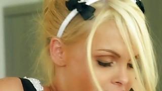 Big boobs blondie maid Jesse Jane fucked hard by_her master image
